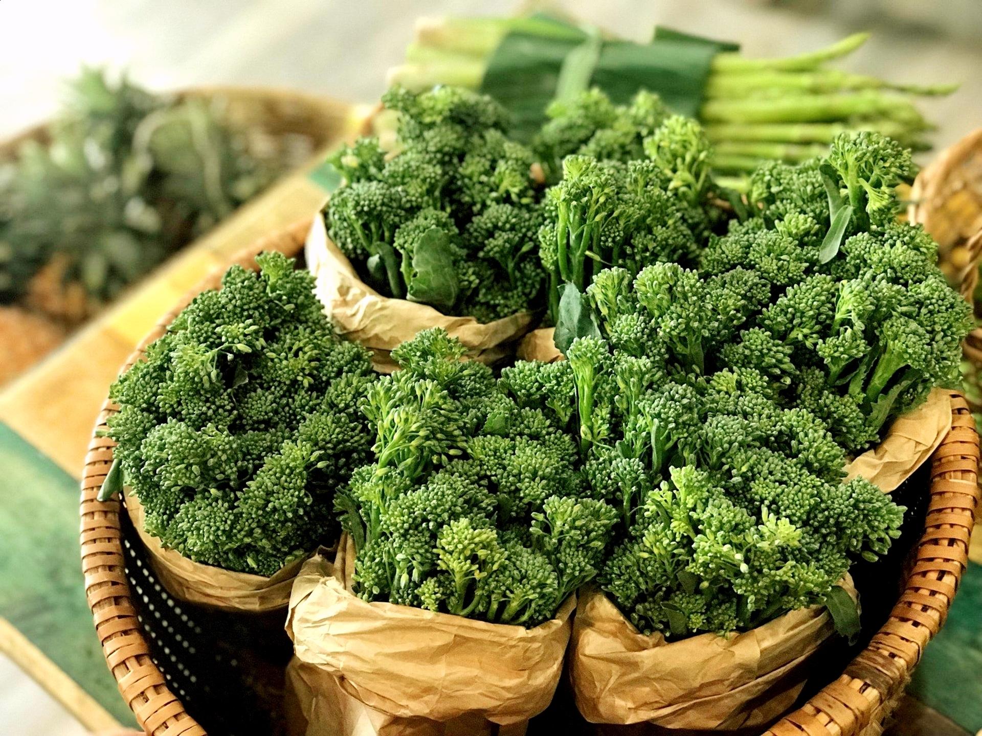 bông cải xanh - thực phẩm giàu canxi bậc nhất